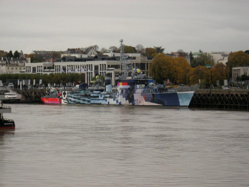 bateau bigarré