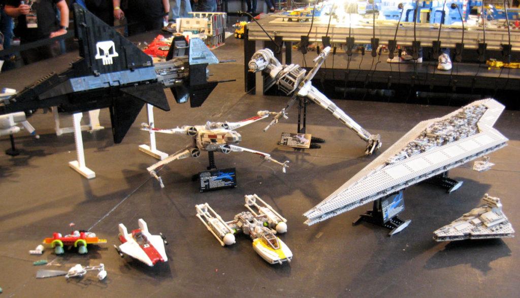 vaisseaux de Star Wars